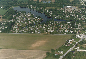 Lakewood Development Aerial View